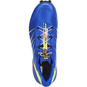 Salomon M's Speedcross Pro Shoes surf the web/lime green/black